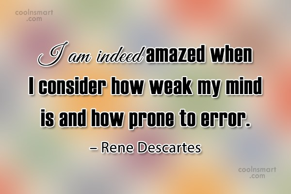 Quote: I am indeed amazed when I consider... - CoolNsmart.com