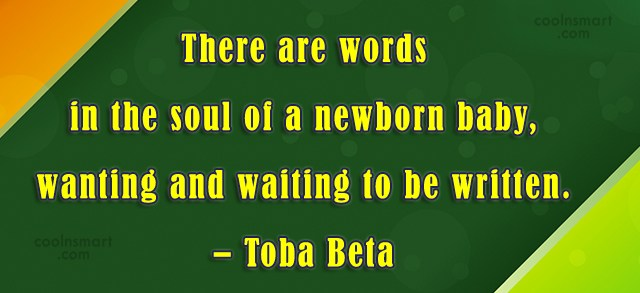 Quote: There are words in the soul of...