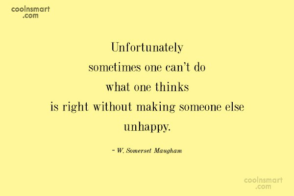 Quote: Unfortunately sometimes one can't do what one...