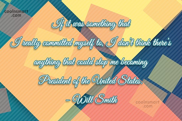 Commitment Quote: If it was something that I really...