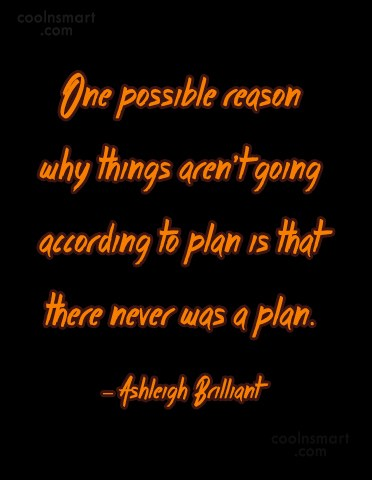 Quote: One possible reason why things aren't going...