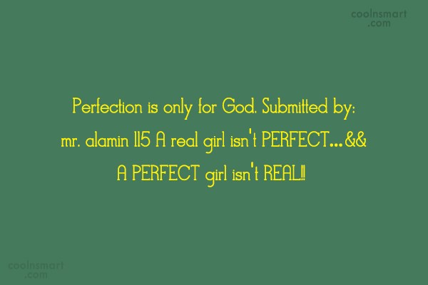 Perfection Quotes And Sayings Images Pictures Coolnsmart