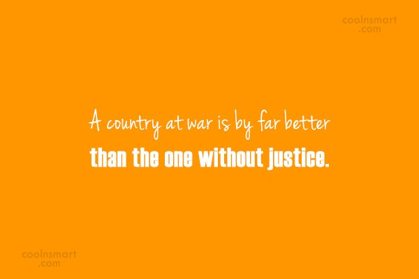 War Quote: A country at war is by far...