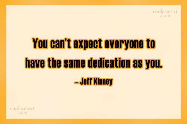 Quote: You can't expect everyone to have the...