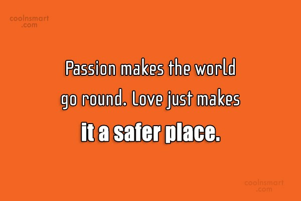 Images Quote: No one is born with positive passion....