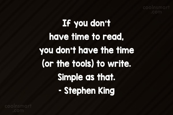 Quote: If you don't have time to read,...