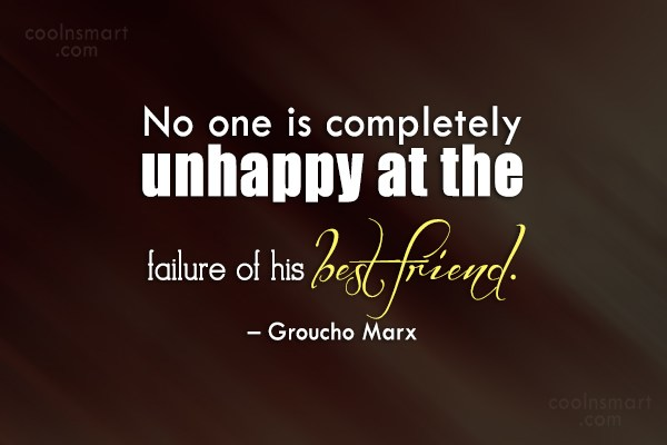 Quote: No one is completely unhappy at the...