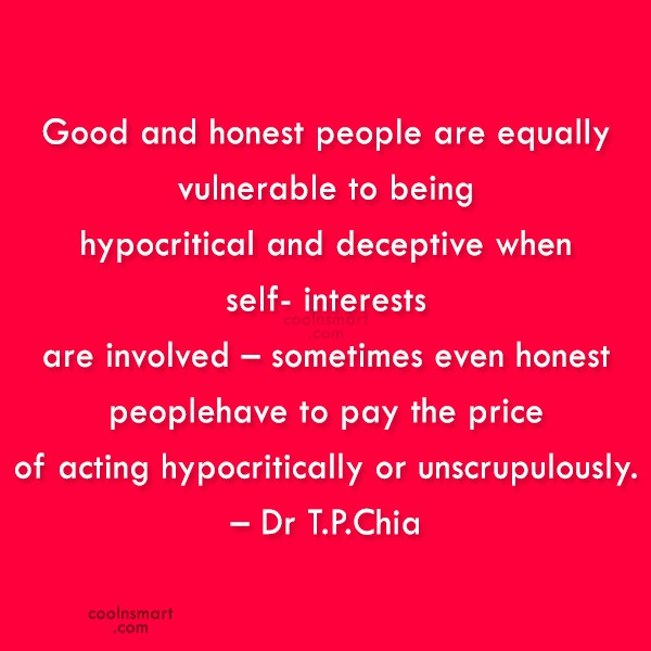 Honesty Quote: Good and honest people are equally vulnerable...