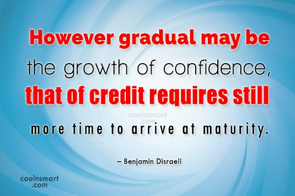 Quote: However gradual may be the growth of...