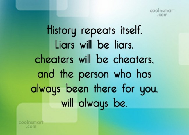 Cheaters quotes