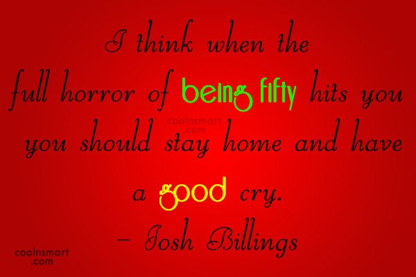Quote: I think when the full horror of...