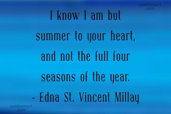 Quote: I know I am but summer to...