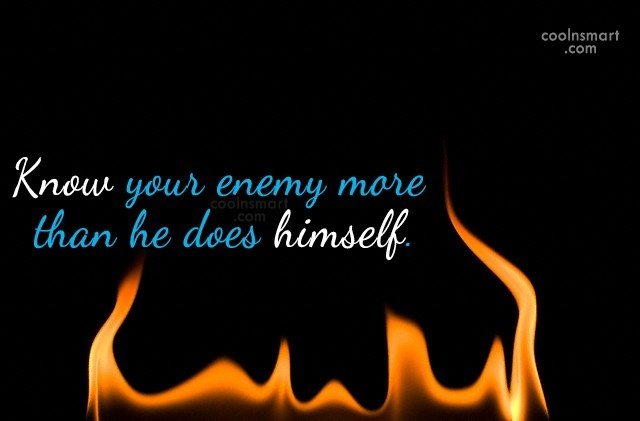 Enemy Quotes And Sayings Images Pictures Coolnsmart