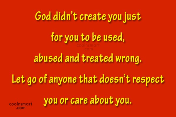 Self Help Quote: God didn't create you just for you...