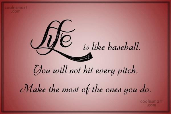Baseball Quotes About Life Brilliant Baseball Quotes And Sayings  Images Pictures  Page 2  Coolnsmart