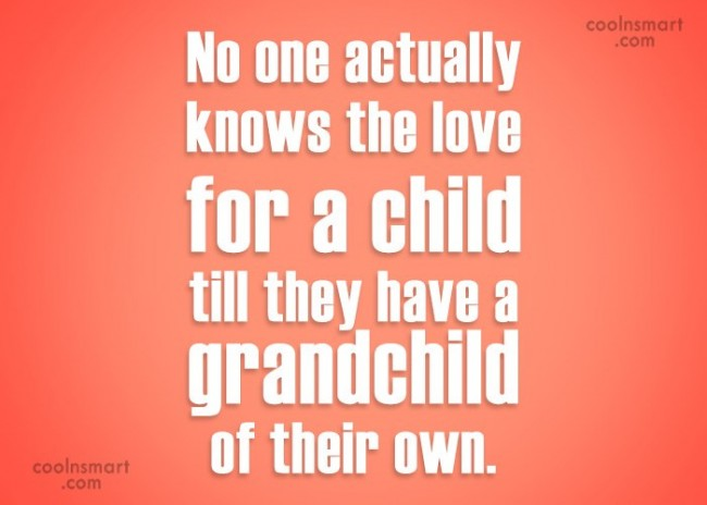 Baby Quote: No one actually knows the love for...