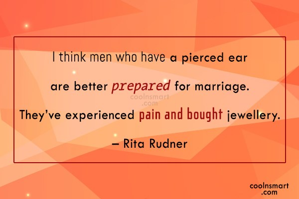 Quote: I think men who have a pierced...