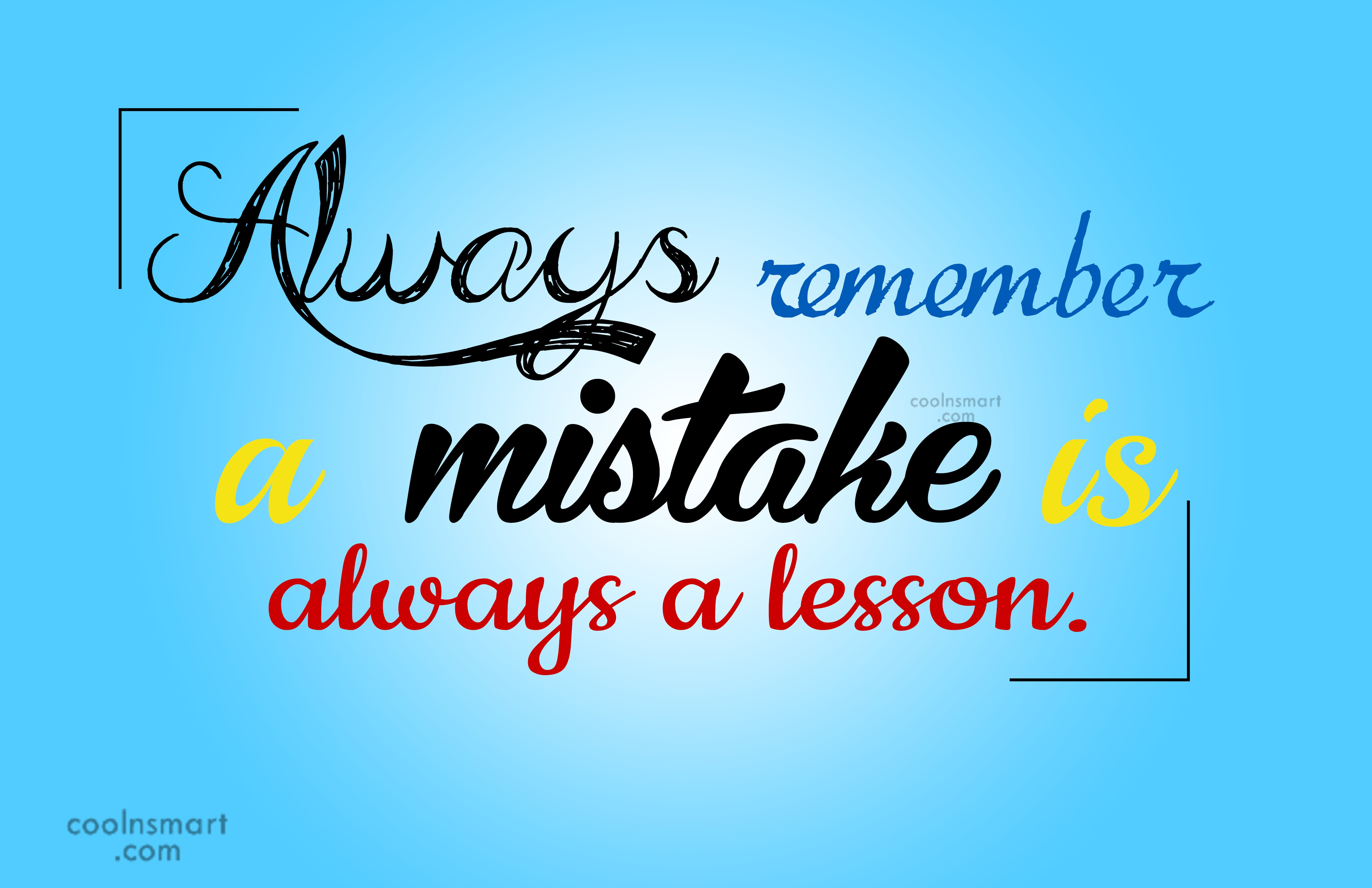 Learning From Mistakes Steemit