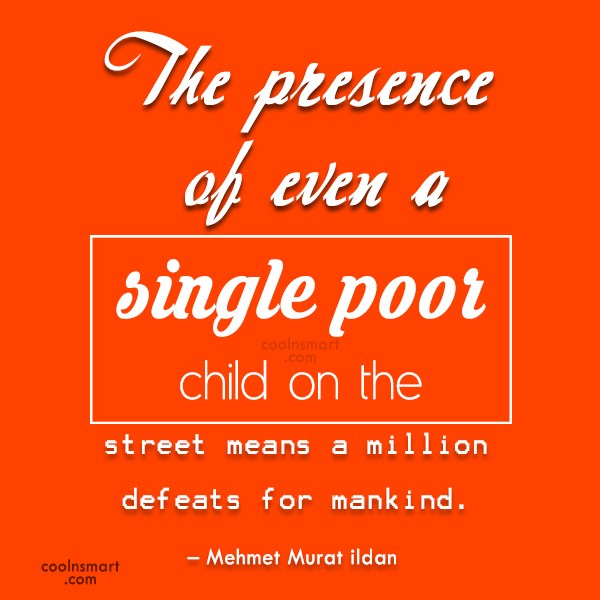 Quote: The presence of even a single poor...