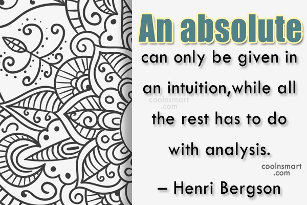 Quote: An absolute can only be given in...