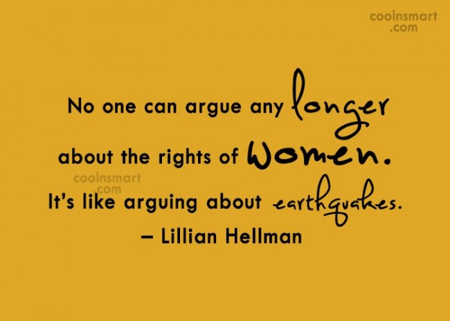 Funny Women Quotes Quote: No one can argue any longer about...