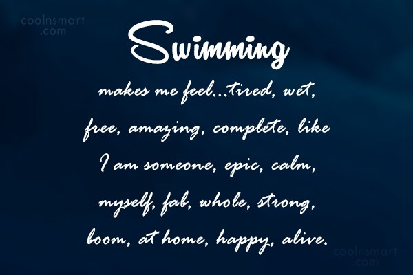 Swimming Quotes Sayings About Swimmers Images Pictures Coolnsmart