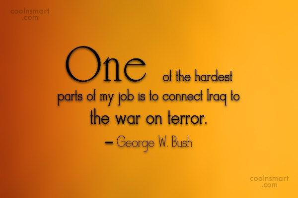 Politics Quote: One of the hardest parts of my...
