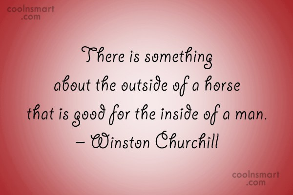 Quote: There is something about the outside of...