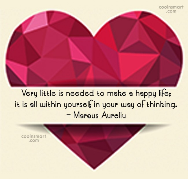 Cheer Up Quote: Very little is needed to make a...