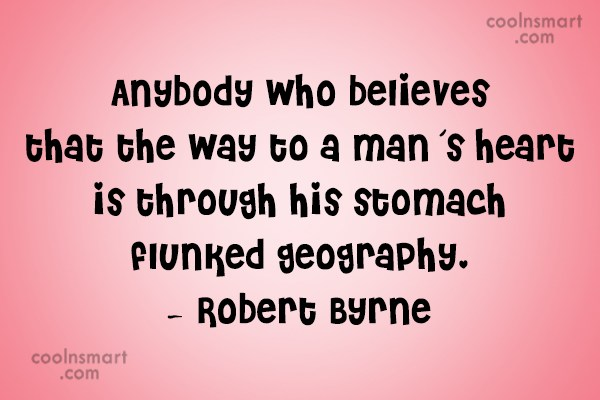Sex Quote: Anybody who believes that the way to...