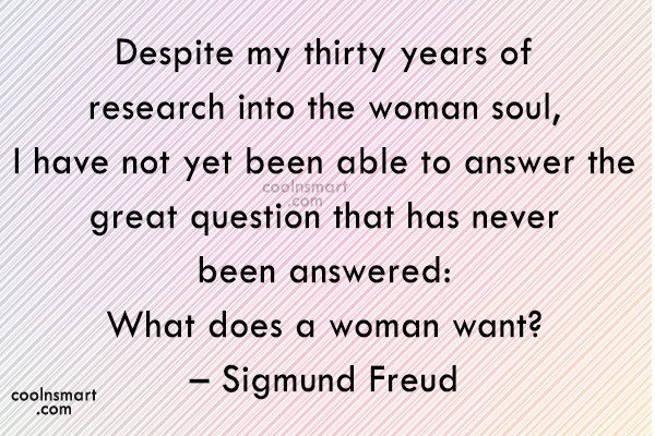 Quote: Despite my thirty years of research into...
