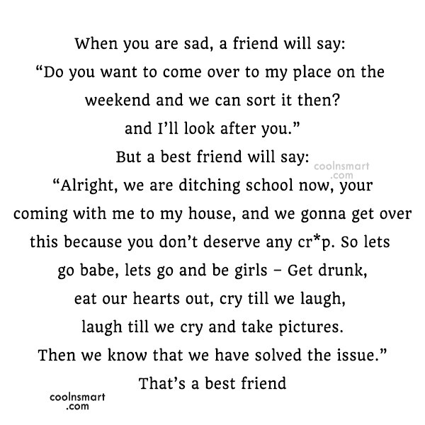 sad best friend quotes for girls - photo #7