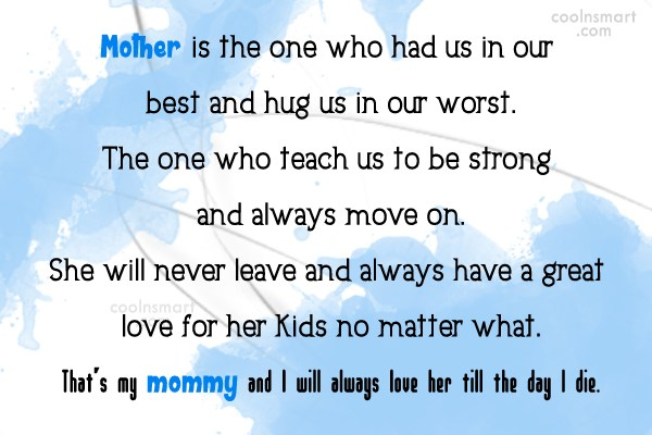 Mother Quotes And Sayings Images Pictures Coolnsmart