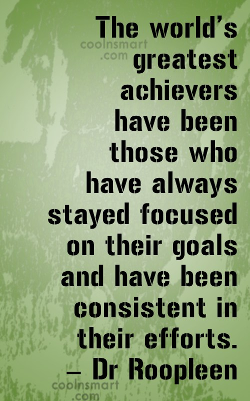 Determination Quote: The world's greatest achievers have been those...